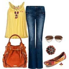Sunset, created by hatsgaloore on Polyvore