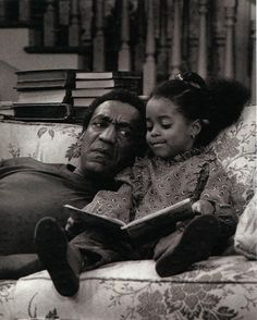 Reading at the Bill Cosby Show.