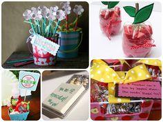 Handmade teacher gifts for back to school