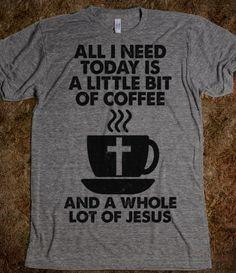 Little Bit Of Coffee, Whole Lot Of Jesus