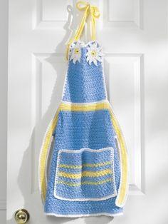 Apron | Yarn | Free Knitting Patterns | Crochet Patterns | Yarnspirations