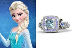 14 Engagement Rings Inspired by Elsa and Anna from Disney #Frozen