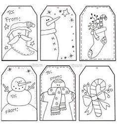 Tags para imprimir - Natal (Tags to Print - Native)