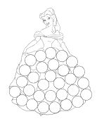 The Activity Mom: Princess Dot Marker Pages (printable) or pompoms could be used for this.