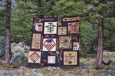 Tom Miner Quilts and Folk Art: The Pokeberry Quilt, design by Jan Patek