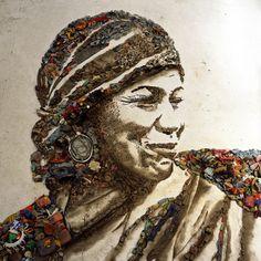 Vik Muniz trash art