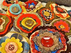 Love to make using scrap fabric