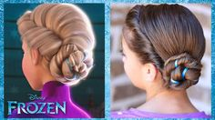 Frozen Inspired Elsa's Coronation Hairstyle Tutorial - A CuteGirlsHairstyles Disney Exclusive  Frozen is on the Zulily site!