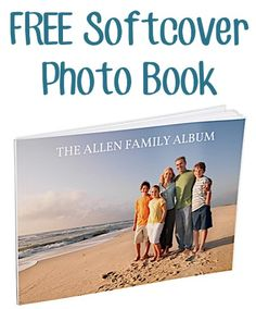 FREE 5X7 Softcover Photo Book!  {just pay s/h}