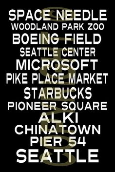 seattle attractions. #seattle #northwest http://www.pinterest.com/TheHitman14/seattle-nw-hometown/