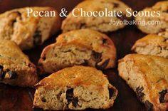 Pecan and Chocolate Scones.