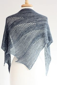 Ravelry: Artesian pattern by Rosemary (Romi) Hill fun craft, clean design, shawl patterns, craft idea, ravelri, knit shawl, ravelry, rosemari romi, artesian pattern