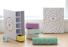 Amazing Baby Book filled will little compartments to store away momentos