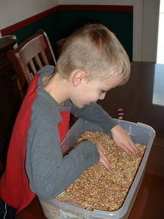 Home sensory diet activities