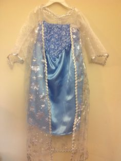 Dress inspired by Disneys Frozen Elsa, size 2T