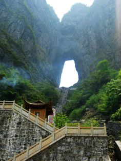 Tianmen Mountain – Gate Of The Heaven, China