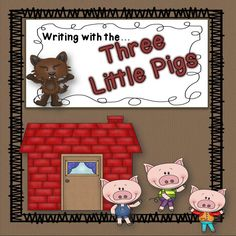 This packet is a great addition while teaching with Three Little Pig stories. Includes writing pages with and without prompts. Picture cards and a student book for retelling the story. $