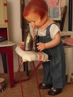 Patsy ironing