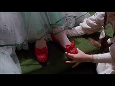 The ruby slippers in Return to Oz.