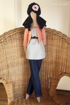 made by agah dolls- love the hair & clothes