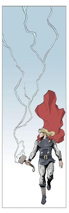 Thor #TheAvengers