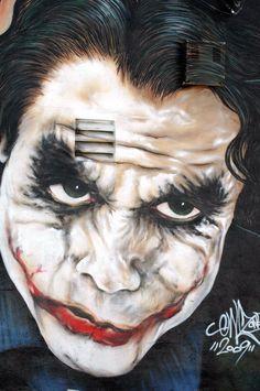STREET ART UTOPIA » We declare the world as our canvas - Heath Ledger as Joker