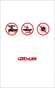 Awesome Gremlins poster by #MariaKaner