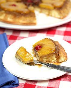 Pineapple Upside Down Cake from @Barbara Kiebel
