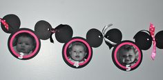 Mickey/Minnie Mouse Ears Banner