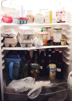The Story of a Girl Who Lives Off of Eggs and Beverages