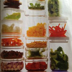 Good idea to prep some healthy meals for the week