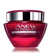 ANEW REVERSALIST COMPLETE RENEWAL Night Cream - Hydrates, while renewing skin layer by layer. Dramatically restores the look and feel of youthful firmness and reduces the look of fine lines and wrinkles. Formulated with Tri-Elastinex technology to enhance skin cells natural ability to renew, regenerate and reconstruct itself. Regularly $32.00, buy Avon Anew Reversalist online at http://eseagren.avonrepresentative.com