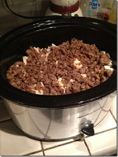 Crock Pot Breakfast Scramble - Super Yummy Recipes - http://bestrecipesmagazine.com/crock-pot-breakfast-scramble-super-yummy-recipes/