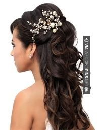 Yes - bride | CHECK OUT MORE GREAT WEDDING HAIRSTYLES AND WEDDING HAIRSTYLE PHOTOS AT WEDDINGPINS.NET | #weddings #hair #weddinghair #weddinghairstyles #hairstyles #events #forweddings #iloveweddings #romance #beauty #planners #fashion #weddingphotos #weddingpictures