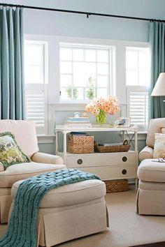 Lovely light lounge room