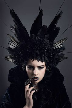 http://www.etsy.com/listing/167476873/huge-couture-gothic-black-corvidae?ref=related-0