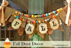 Fall Door Banner
