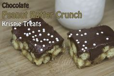 peanut krispie treats