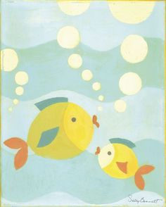Bubbles Canvas Reproduction