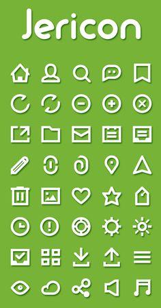 Jericon - Free Icon Set