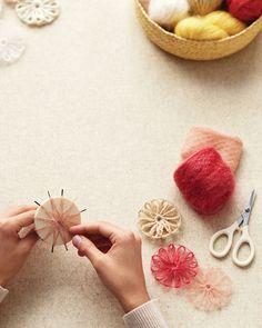 DIY: rosettes
