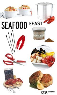Entertaining Files: Hosting a Seafood Feast #hosting #seafood #summer