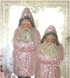 Pink Santas