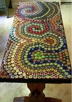 Would love to make a bar table like this!