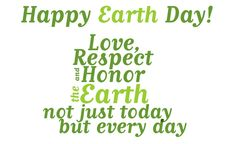 #earthday is every day.