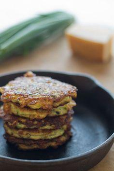 Zucchini Fritters (Paleo, grain free, gluten free)