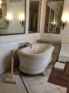 Marble tub, The Breakers, Newport R.I.