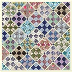Liberty Lawn Jelly Roll Quilt