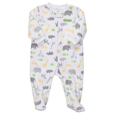 Cotton Zip-Up Sleep & Play | Baby Neutral One Pieces