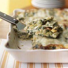 Casseroles Under 300 Calories | Garden-Style Lasagna | MyRecipes.com